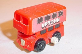 VINTAGE 1970S TOMY UPTOWN DOUBLE DECKER BUS WIND UP TOY - $20.58