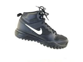 Nike Womens Dual Fusion Hills Mid Training Shoes BLACK/WHITE Sz 9.5 749474-001 - $54.66