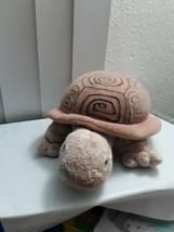 "Aurora Sea Tortoise Turtle Plush Stuffed Animal Doll Toy 13"" Brown - $15.49"