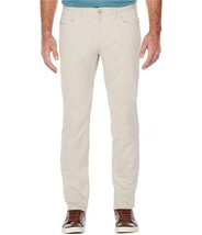 Perry Ellis men's Slim Fit Stretch Pants Stone Beige size 32x34 - $29.39