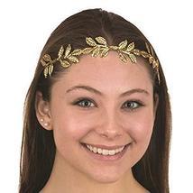 Jacobson Hat Company Metal Laurel Leaf Golden Crown Adult Costume Headband - $6.48