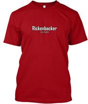 Rickenbacker White Mens Muscle - Guitars Hanes Tagless Tee T-Shirt - $10.99