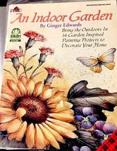 Plaid An Indoor Garden Folk Art Painting Decorative Designer Technique Book 9740 - $13.36