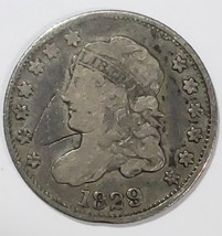 1829 Silver Bust Half Dime 5¢ Coin Lot# E 202