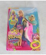 Barbie Dolphin Magic Snorkel Fun Friends Playset New - $24.74