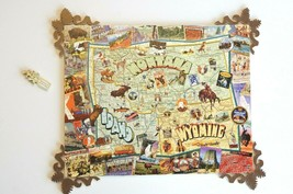 """Stave wooden puzzle """"The Great Northwest"""" 305 Pieces Yellowstone Outdoors - $2,100.97"""