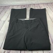 Banana Republic 'The Martin Fit' Black Dress Pants Stretch Size 6 - $25.96