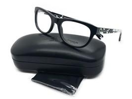 New Coach Rx Eyeglasses Frames HC 6081F 5348 53x18 Black / Black Crystal Mosaic - $77.57