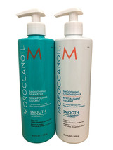 Moroccanoil Smoothing Shampoo & Conditioner DUO 16.9 OZ Each - $86.99