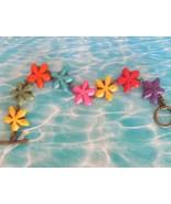 Rainbow Starfish Bracelet, Star Bracelet, BoHo Beach Bracelet, Seashell ... - $7.99
