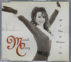 MARIAH CAREY - ALL I WANT FOR CHRISTMAS IS YOU 1994 AUSTRIAN CD PART 1 C... - $12.40