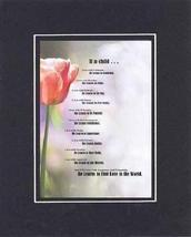Touching and Heartfelt Poem for Other Occasions - If a Child Poem on 11 x 14 inc - $15.79