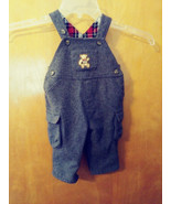 Boys CHILDRENS PLACE Grey Wool Blend LINED   Overall/Cargo pants 3-6 mos... - $12.37