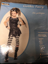 Gothic Fairy Costume-Girl's Sz Large 10-12-New! - $13.95
