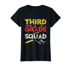 Funny Shirts - Third Grade Squad T-Shirt 3rd Grade Graduation Gift Wowen - $19.95+