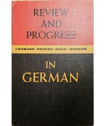 Book Review and Progress in German 1959 Language Studies Text Q&A see co... - $14.50