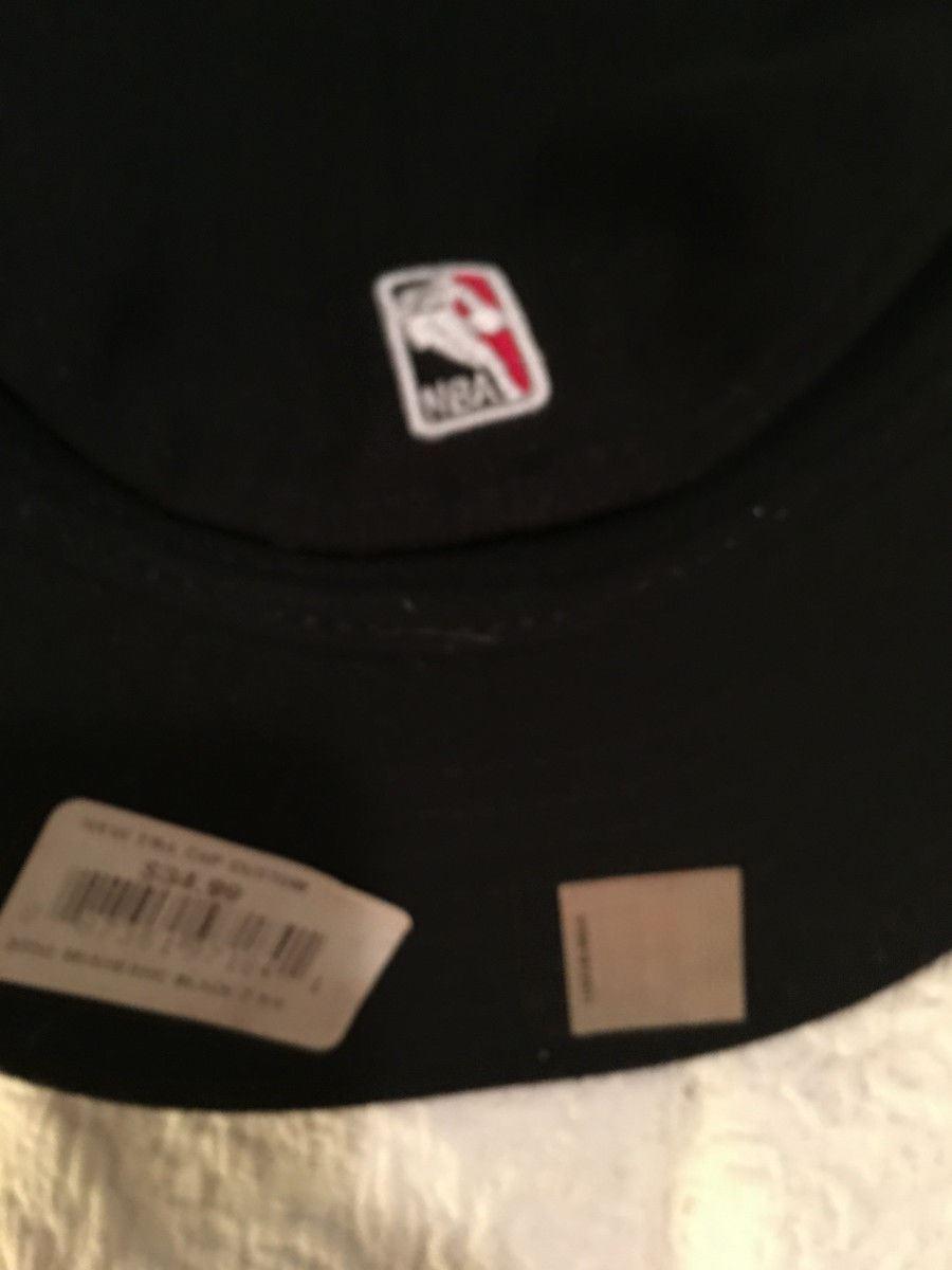 *NEW*  NEW ERA BALL CAP / HAT   SZ  7 1/4  NBA FINALS CHAMPIONS MIAMI  HEAT-RARE image 6