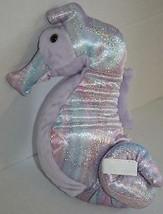 "ATLANTIS SEAHORSE 12"" Wildlife Artists Plush Purple Rainbow Stuffed Soft... - $16.42"
