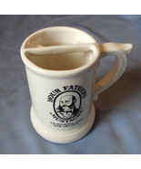 Ceramic Advertising Mug Your Father's Mustache 426 Bourbon Street New Or... - $16.99