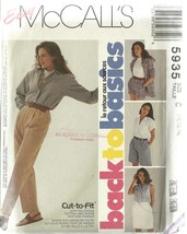 McCall's Sewing Pattern 5935 Misses Womens Skirt Pants Shorts Size 10 12 14 New - $9.99