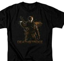 Deathstroke T-shirt Green Arrow DC comics TV show superhero villain graphic Tee image 1