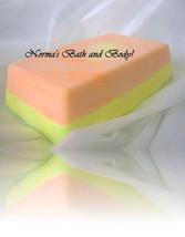 mango and lemon soap - $4.99