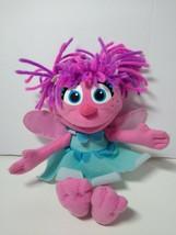 "Sesame Street Plush Abby Cadabby 9"" Plush Doll Hasbro 2010 - $8.90"
