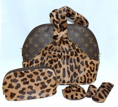 Louis Vuitton Alma Handbag Azzedine Alaia Monogram Leopard Bag M99032 - $1,960.20
