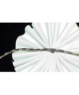 10k .50Ct Diamond Straight Link Tennis Bracelet Yellow Gold 7.25 9.2 Grams - $683.09