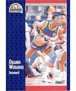 Orlando Woolridge ~ 1991-92 Fleer #56 ~ Nuggets - $0.05