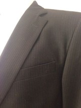 Dockers Black Pinstripe Blazer Suit Coat 40-42 Business Event Work Party... - $29.39