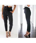 OL chiffon high waist harem pants Women stringy... - $29.99