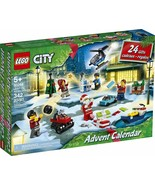 LEGO City Advent Calendar 60268 Playset 6 Adventures TV Series New 2020 ... - $47.49