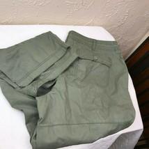 Liz Claiborne Womens Pants capris  Roll Tab Cotton Blend Size 16 - $15.85