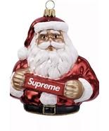 Supreme Box Logo Santa Ornament Confirmed. Ships Next Day Of Delivery - $89.99