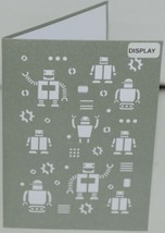 Lovepop LP1178 Robots Pop Up Card   White Envelope Cellophane Wrapped image 2