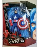 MARVEL SIGNATURE SERIES CAPTAIN AMERICA SPIDER MAN ORIGINS 2006 FIGURE H... - $19.99