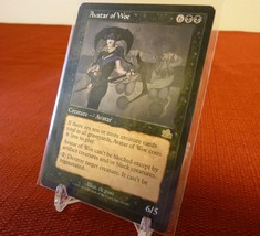 x1 Avatar Of Woe Prophecy 2000 Mtg Playing Cards English - Rare - $4.46