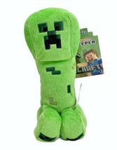 """Jazwares Minecraft Creeper 7"""" Plush Licensed Product Brand New w Tag Green - $19.10"""