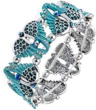 YACQ Women's Guardian Angel Wings Stretch Bangle Bracelets Biker Costume... - $109.95
