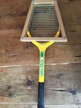 Vintage Chris Evert Miss Chris Wilson Wood Tennis Racquet w/ Wooden Press - $20.89