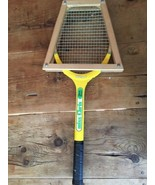 Vintage Chris Evert Miss Chris Wilson Wood Tennis Racquet w/ Wooden Press - $20.89