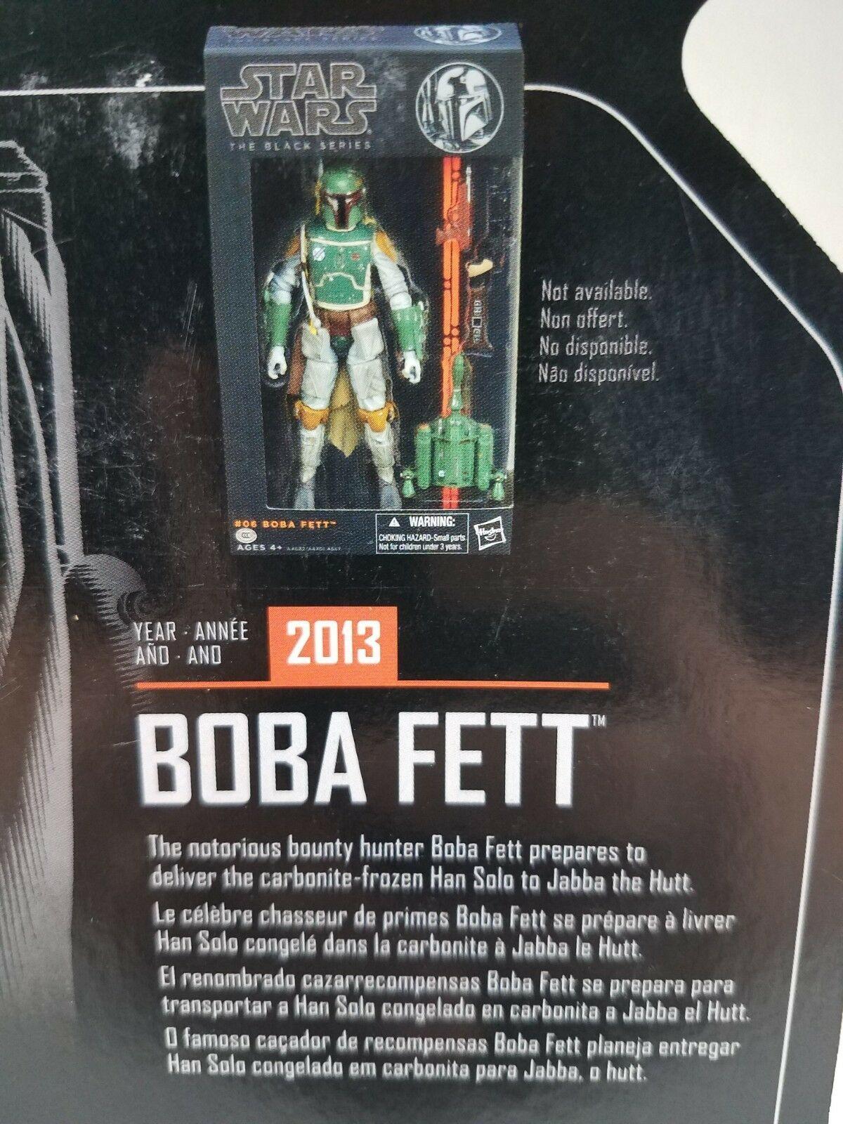 "Star Wars The Black Series Archive 6"" - Boba Fett - Hasbro 2018"