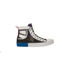 DIESEL S-Diesel Maginee Mid Mens  Fashion Sneaker  Black/Multicolor Size... - $140.24