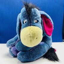 Walt Disney Plush stuffed animal vtg Eeyore donkey Winnie Pooh Christoph... - $38.50