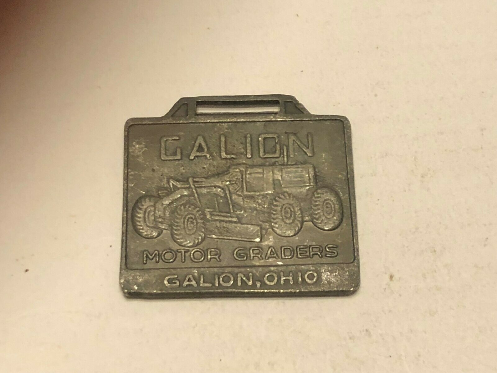 Vintage Watch Fob - Calion Tandem Rollers