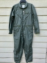 NEW US AIR FORCE USAF NOMEX FIRE RESISTANT FLIGHT SUIT GREEN CWU-27/P - ... - $123.75