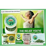 ALOE FEROX BITTER CRYSTALS, CONSTIPATION RELIEF, COLON CLEANSER,  HERBAL... - $34.53