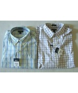 New Stafford Men's Classic-Fit Easy Care Long Sleeve Shirt Variety Color... - $30.59