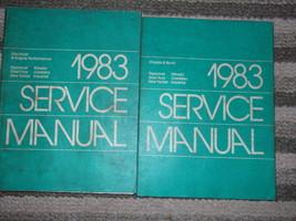 1983 Chrysler Cordoba Imperial New Yorker Diplomat Mirada Fury Service M... - $88.95